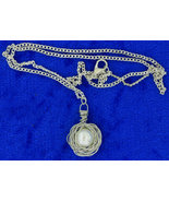 Bird Nest Egg Necklace Imitated Pearl Chain Len... - $5.99 - $7.49