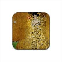 Adele Blochbauer Gustav Klimt Non-Slip Drink/Beer Coaster Set - $6.74