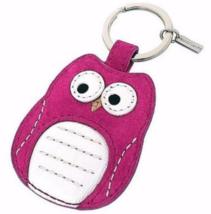 Coach Poppy Owl KeyChain Keyring for hobo duffle swingpack tote purse ba... - $44.99