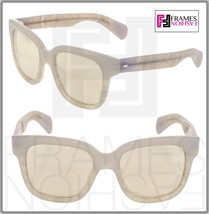 Oliver Peoples Brinley OV5281SU Opal Pearl Gold Mirrored Sunglasses 5281 - $238.59