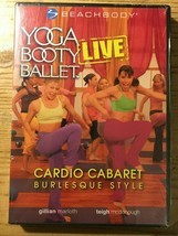 Yoga Booty Ballet Live Cardio Cabaret Burlesque Style Beach Body exercise DVD - $5.89