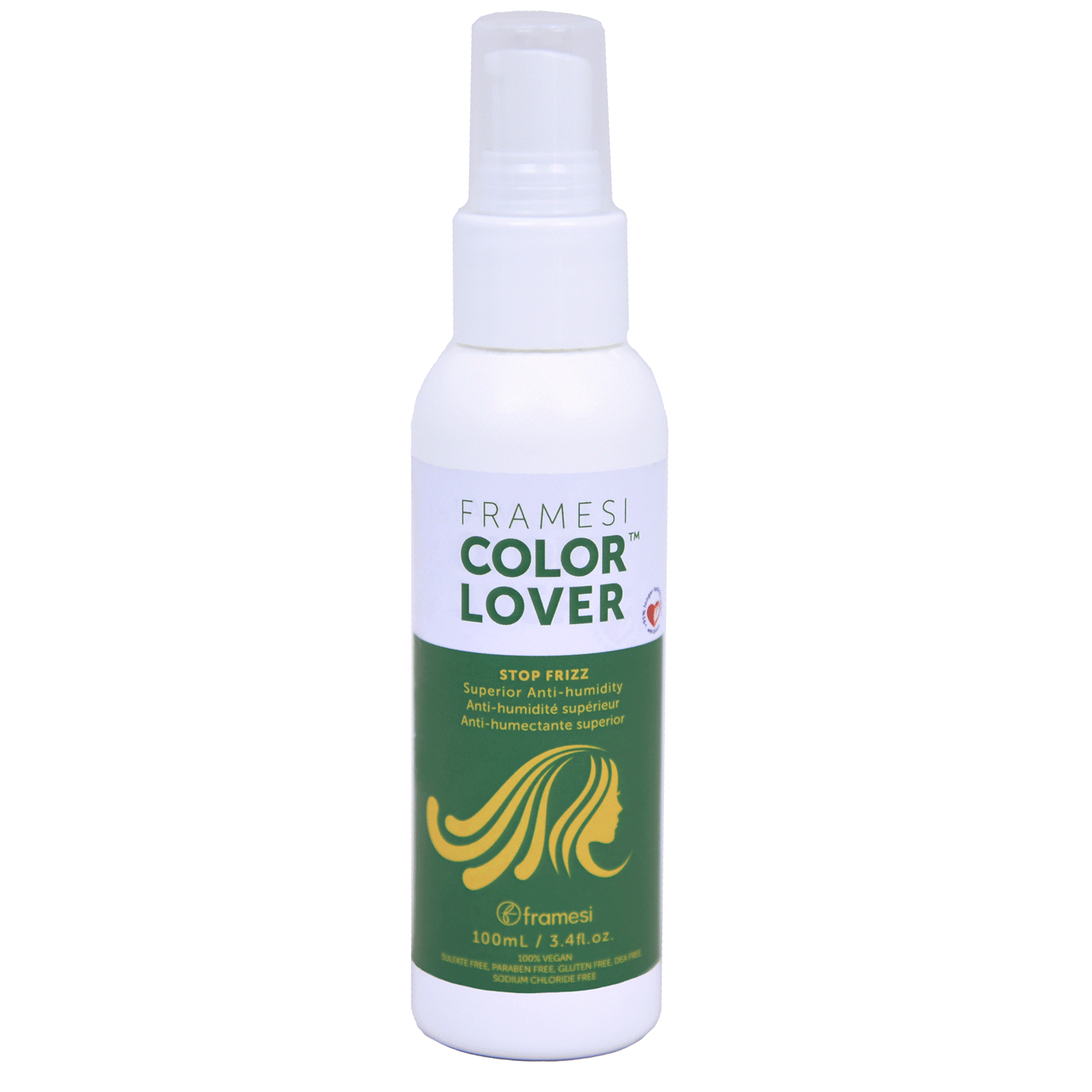 Primary image for Framesi Color Lover Stop Frizz - Superior Anti-Humidity Serum 3.4oz