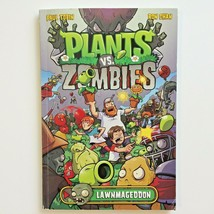 Plants vs Zombies Lawnmageddon Paperback Book by Paul Tobin Ron Chan - $5.99