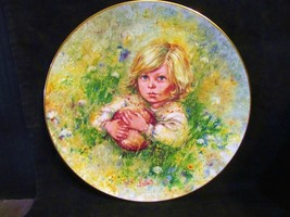 """Mary Vickers """" Innocence """"The Blossoming of Suzanne Series Collector Plate - $20.99"""