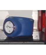 Pre Owned Fashion Blue Slap Style Band Quartz W... - $6.44