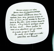 Erotic French Trinket dish Limoges France vanity dresser Vintage Bonhomm... - $125.00