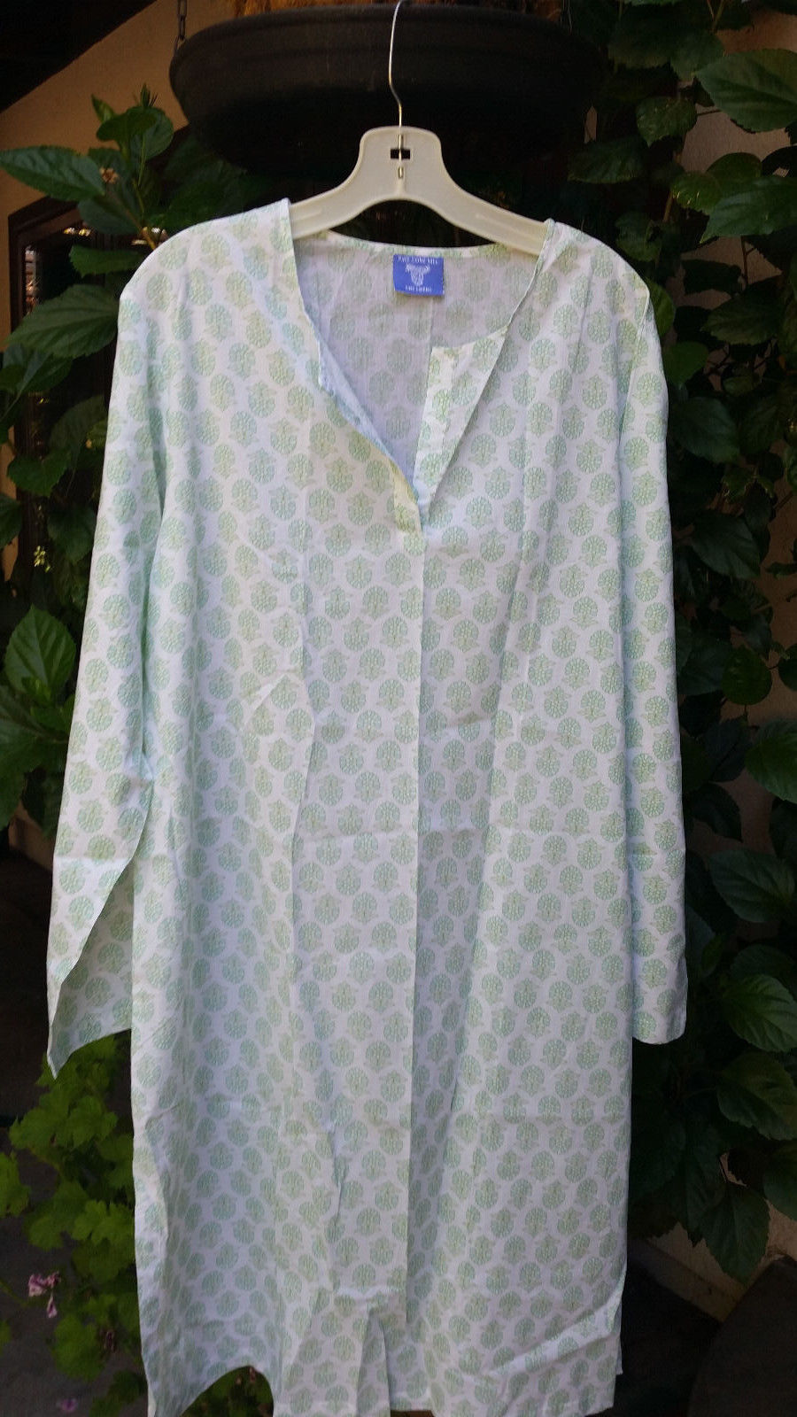 Primary image for Asha Knee-length Cotton Voile Kaftan by Pine Cone Hill (Medium)