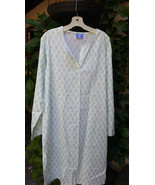 Asha Knee-length Cotton Voile Kaftan by Pine Co... - $46.04