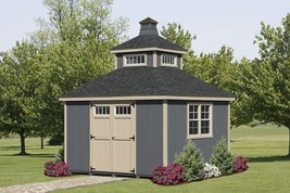 AMISH PA DUTCH CUSTOM QUALITY HANDMADE 12X12 UTILITY GARDEN TOWER STORAG... - $5,900.00
