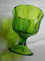 Indiana Glass Vintage Jade Medium Green Grape V... - $17.15