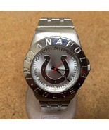 Vintage Indianapolis Colts By Game Time Men Analog Quartz Watch Hour~New Battery - $20.96 CAD