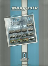 2000 DeTOMASO MANGUSTA Press Kit brochure catalog US Qvale Modena - $20.00