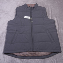 WEATHERPROOF MENS Full Zipped VEST Size  2X Gray NWT NEW - $62.04