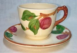 Vintage Franciscan Apple Pattern Cup & Saucer  - $9.95
