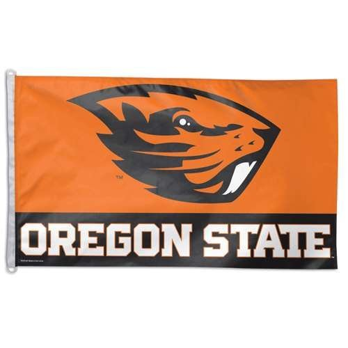 Primary image for Oregon State Beavers Flag By Wincraft 3' X 5'