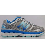 New Balance 860 v5 Women's Running Shoes Size US 7.5 D WIDE EU 38 Silver W860SB5 - $70.36