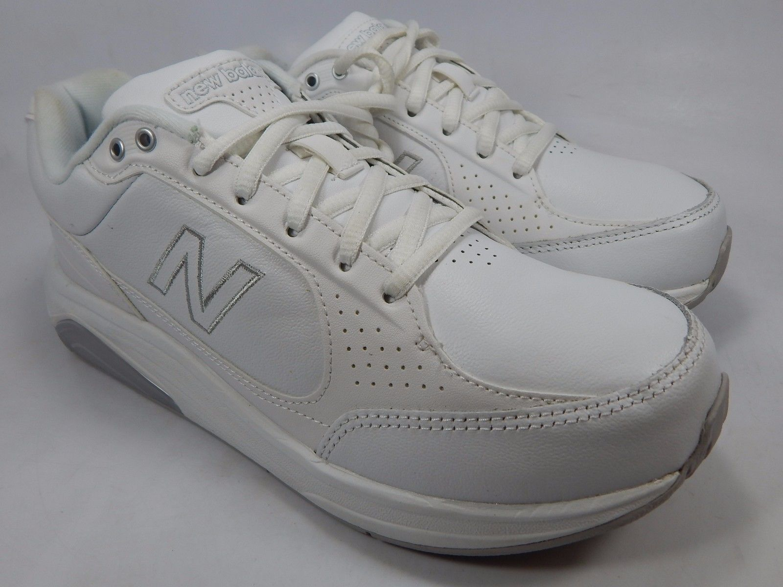New Balance 928 Women's Walking Shoes Size US 7.5 2A NARROW EU 38 White WW928WT