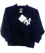 Nwt Majestic New York Yankees para Niño Youth Ny Cosido Calentamiento Ch... - $29.97