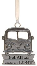 Life ie Beautiful Inspirational Zinc Ornament by Ganz- All Who Wander No... - $143,87 MXN