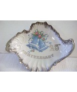 Vintage Norcrest Silver Anniversary  Amoeba shaped Candy Dish - €15,29 EUR