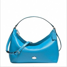 NWT COACH F36628 Celeste Pebbled Leather Crossb... - $163.63
