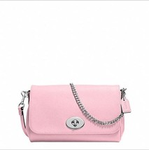NWT COACH Mini Ruby In Leather Petal Pink /silv... - $149.60
