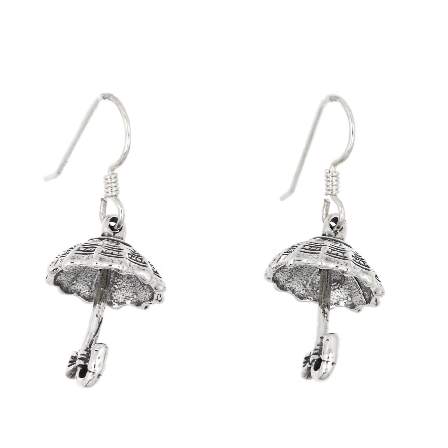 Primary image for STERLING SILVER OPEN UMBRELLA EARRINGS