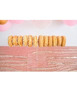 Sweet Details Party Co. 1-Tier Acrylic 'Floating Donut' Stand - Holds up... - $39.71