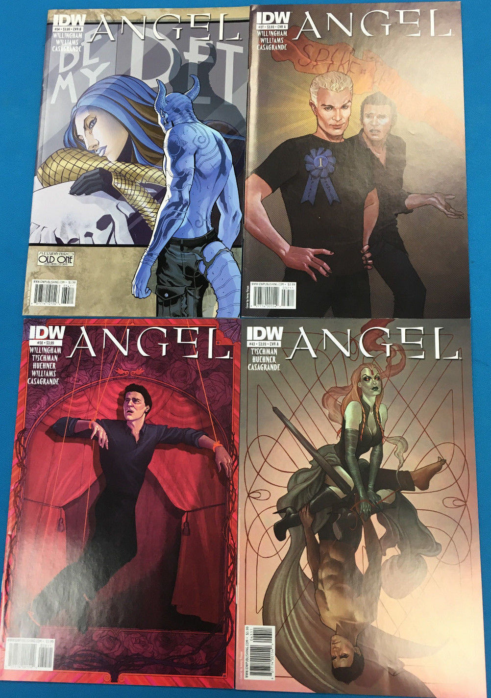 Primary image for ANGEL lot of (4) issues as shown (2010/2011) IDW Comics FINE+