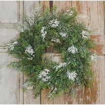 Rustic Holiday Cedar Wreath Door Decor Primitiv... - $49.99