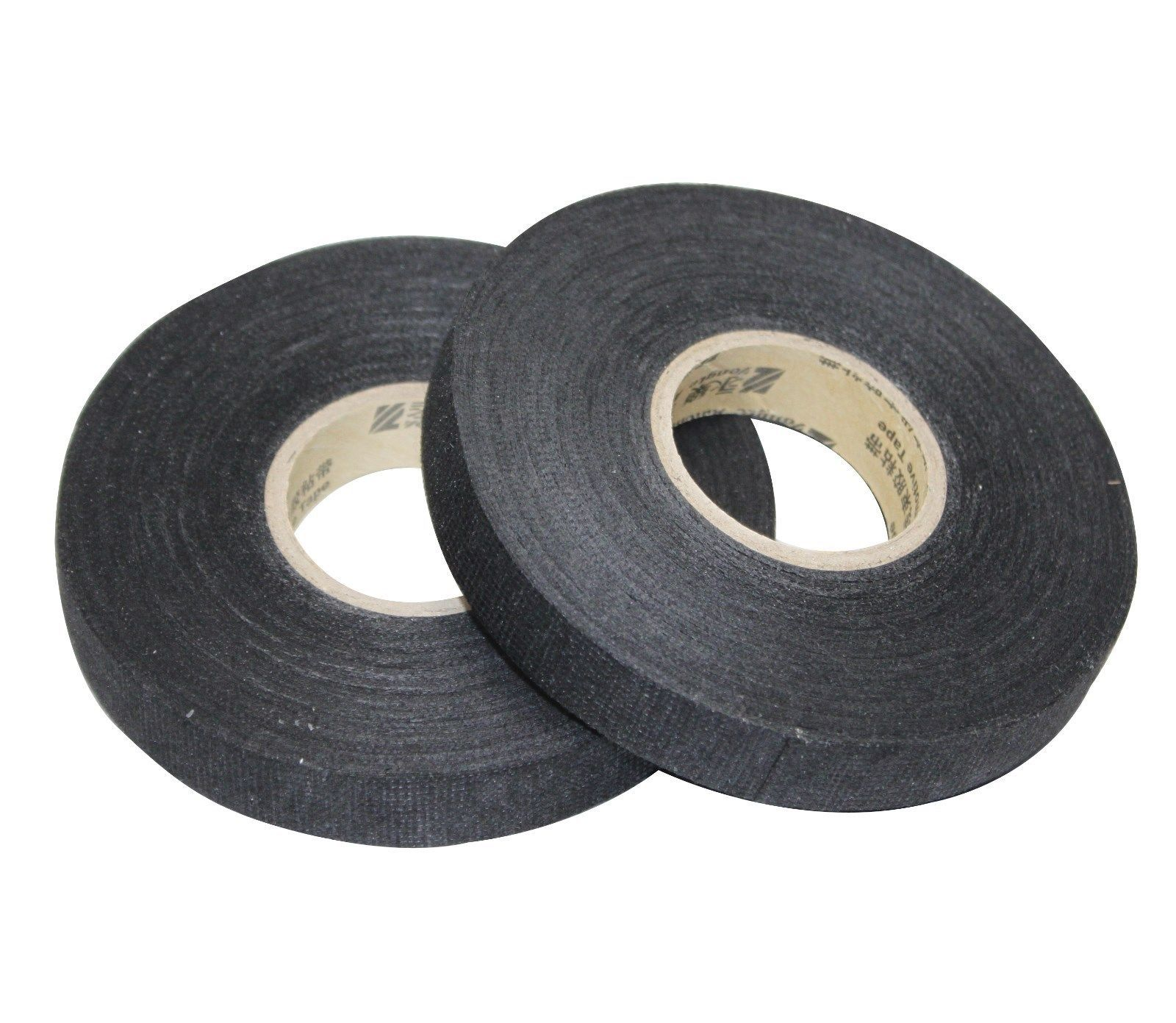 Primary image for APS 2PCS 15mm x 25m 2-pack of Adhesive Cloth Fabric Tape for wiring harnesses