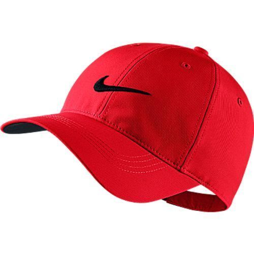 Primary image for NEW! Red/Black NIKE Men-Women's Golf Tech Swoosh Cap by NIKEGOLF