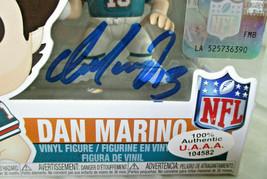 DAN MARINO / MIAMI DOLPHINS / AUTOGRAPHED FUNKO POP VINLY FIGURINE IN CASE / COA image 2