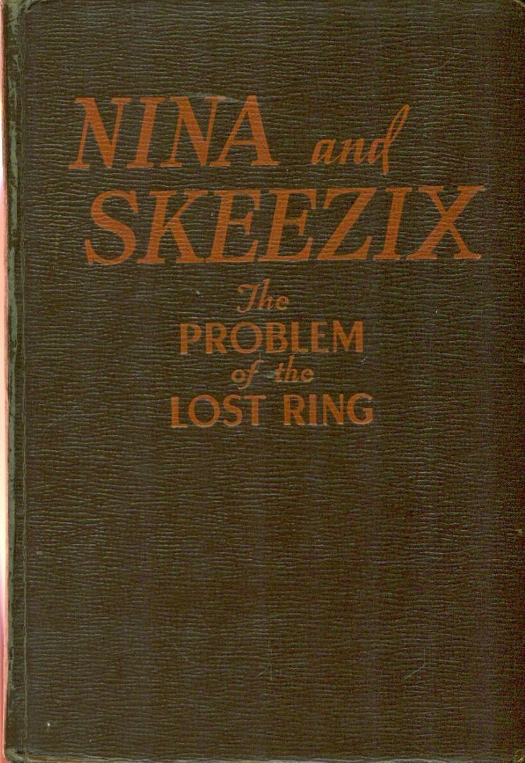 Primary image for NINA AND SKEEZIX and Problem of the Lost Ring by Frank King (1942) Whitman HC