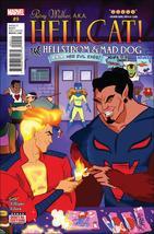 Marvel PATSY WALKER, A.K.A. HELLCAT! #9 VF - $1.99