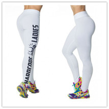 Hardcore Women Sexy Gym Wear Sports Yoga Leggings Workout Rock Punk Skul... - $19.49