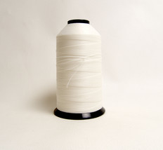 Thread, Polyester, T-90 SunStop, White, 8 Oz. Spool, 2100 Yards / 1920 Meters image 1