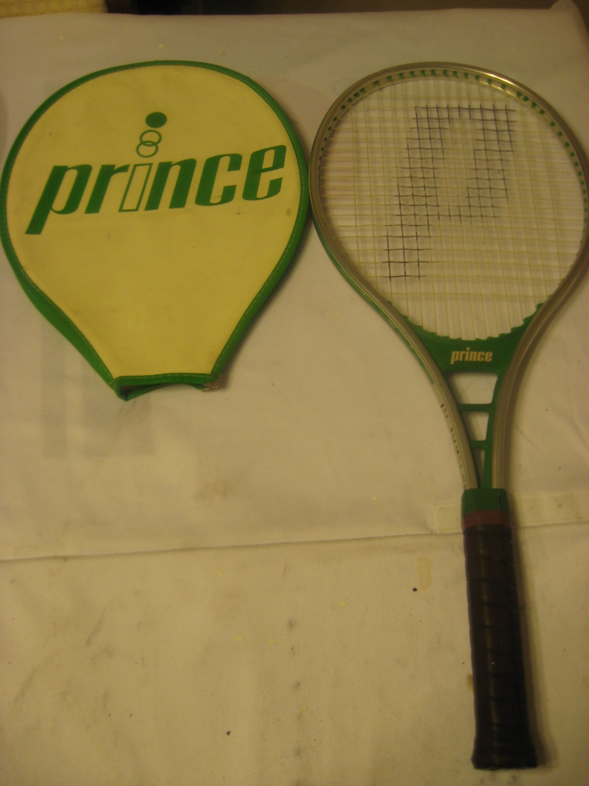 Primary image for Vintage Prince Classic Aluminum Tennis Racquet, Collectible, 1977, Collectible
