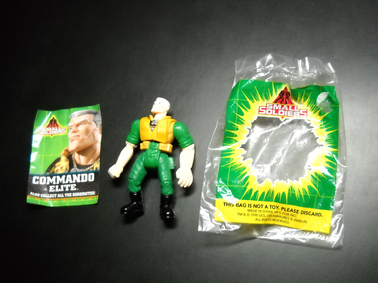Chip Hazard Small Soldiers 1998 Burger King And 50 Similar Items