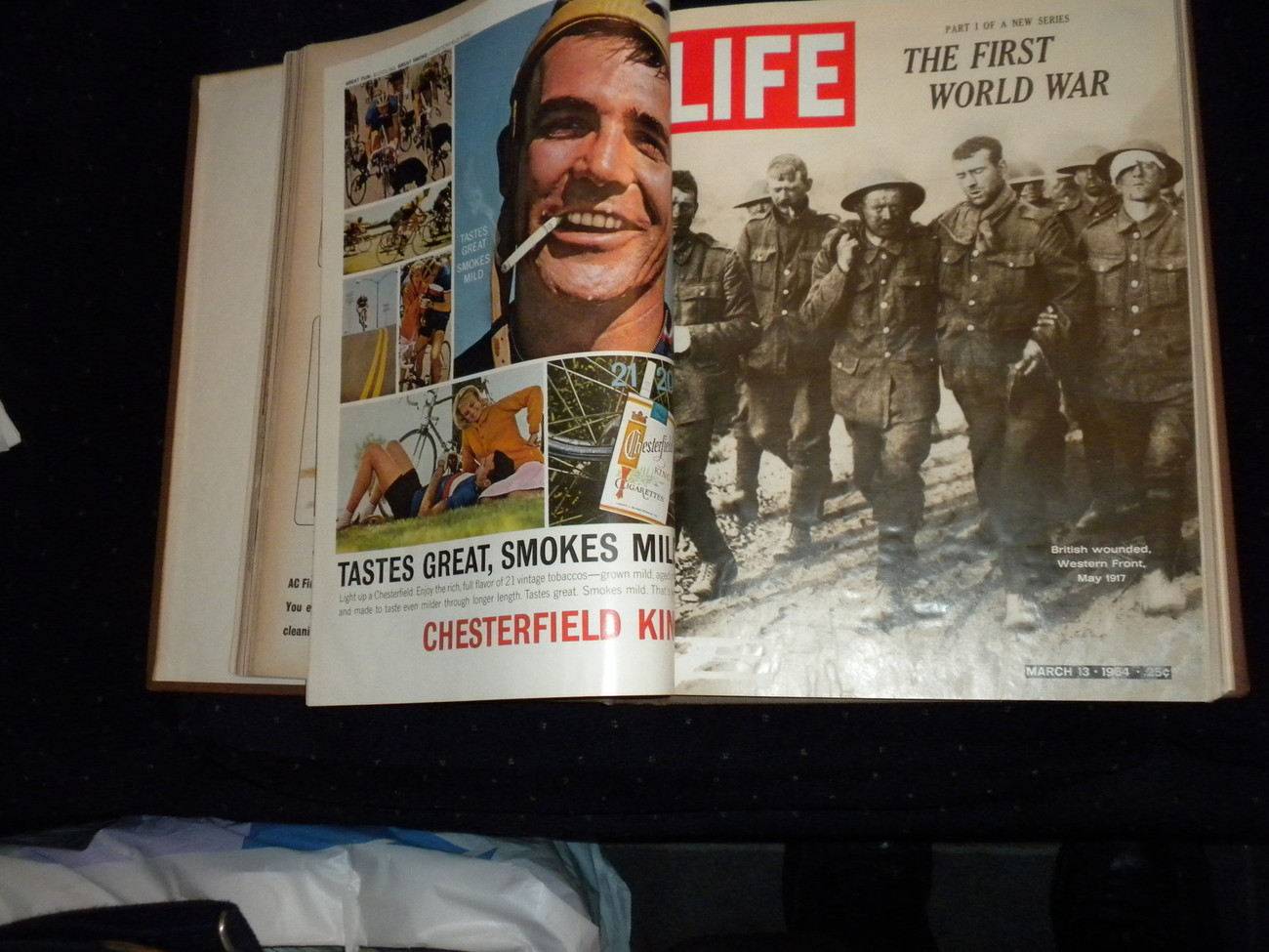 4 Bound March 1964 Life Magazines Cassius Clay, Walter Alston, Queen Eliz, WWI