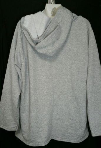 81a620bf799 Just My Size JMS Hoodie Sweatshirt Plus Size 14W 16W Jacket Gray Hood NWT