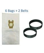 (6) F Style Cloth Hepa Vacuum Bags for Kirby Sentria I & II G10D + (2) B... - $15.79