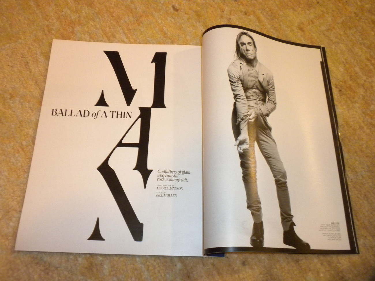 Tim Lincecum, Rock Star photos, Spring Fashion New York Times Style Mag 2011 nf