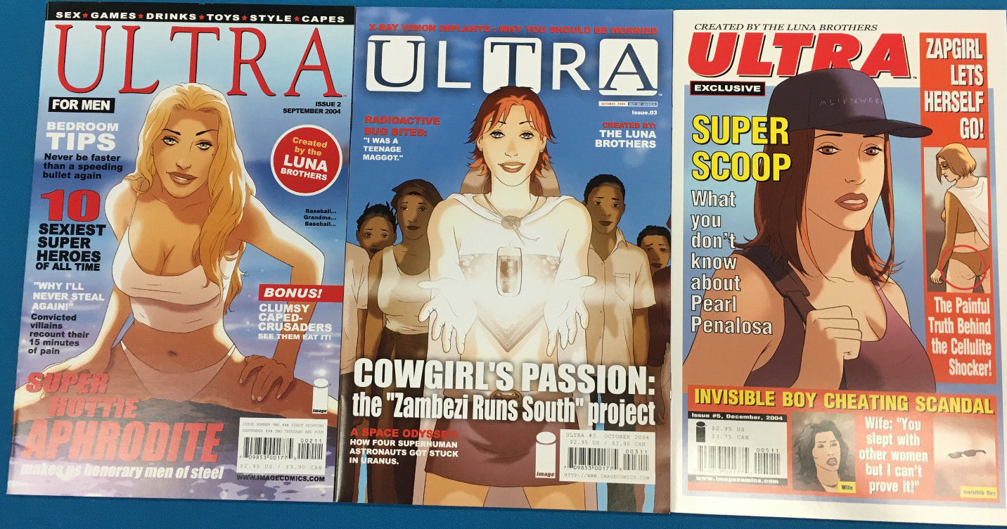 Primary image for ULTRA lot of (3) issues #2 #3 #5 (2004-2005) Image Comics FINE+