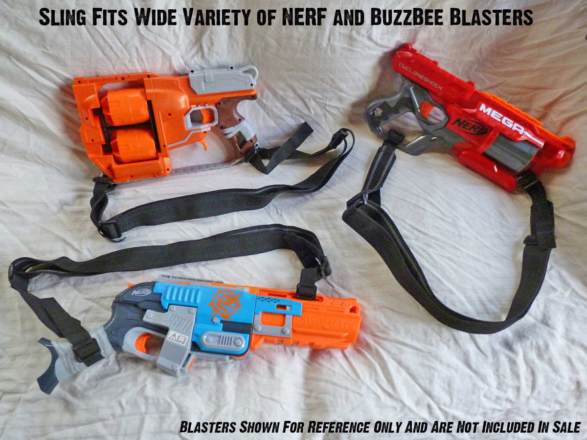 Custom NERF Gear - Universal Weapon Sling - Dual Point Sling / 2 Point Sling