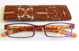 """Magnivision by Foster Grant - Readers with Tropical Print Case +1.25 """"Ba... - $14.99"""