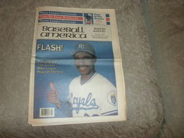 Baseball America 1988 Tim Raines Tom Gordon Montreal Expos Robin Ventura - $5.75