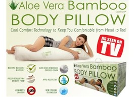 Bamboo Covered Body Pillow - $32.99