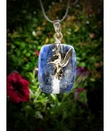 Unique Celestial Zenith Male Blue Pegasus Amule... - $179.99