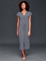 Gap Tie-waist stripe maxi dress, Navy stripe, size XL, NWT - $50.00